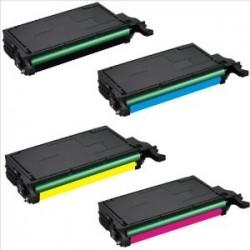 Compatible High Capacity 4 Colour Samsung 5082L Toner Cartridge Multipack