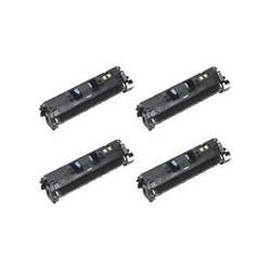 Compatible 4 Colour Canon 718 Toner Cartridge Multipack (718BK/C/M/Y)